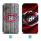 Montreal Canadiens Leather Case For iPhone X Xs Max Xr 7 8 Plus Galaxy S9 S8 $4.99 USD on eBay