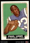 1964 Topps #165 Paul Lowe Chargers Oregon St 6 - EX/MT $44.0 USD on eBay