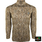 DRAKE WATERFOWL OL TOM PERFORMANCE MOCK NECK LONG SLEEVE CAMO SHIRTShirts & Tops - 177874