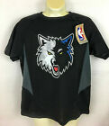 Minnesota Timberwolves Youth T-Shirt  Black  Majestic Small or Medium on eBay