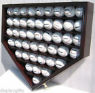 Внешний вид - Shadow Box Wall Cabinet to hold 46 Baseball Display, Lock, UV Protection : B46