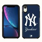 Official MLB ShockProof Hybrid Cover Case for Cell Phone - New York Yankees