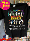NEW KISS 2019 T-Shirt End of the Road Farewell FINAL TOUR With Signatures S-2XL image