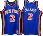 Larry Johnson New York Knicks Hardwood Classic Throwback NBA Swingman Jersey on eBay