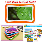 7 inch Quad Core HD Tablet Dual Camera WiFi Android System Kids Gift 4 Colors