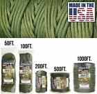 Paracord Parachute Cord Genuine Mil Spec Type IV 750 Military Rope Camping Wrap