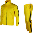 Kill Bill Bruce Lee Style Jackets Pants Track Suit Warm Up Gym Training Wear