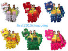 Chinese Folk art Lion mascot Dance Costume pure wool Southern Lion For two kids