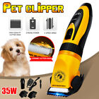 Low Noise Electric Pet Dog Cat Hair Trimmer Groomer Clipper Razor Fur Shaver Kit