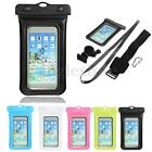 4in1 IPX8 Waterproof Mobile Phone Dry Bag Case Cover Bike Bicycle Mount Holder