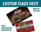 Custom Flags FAST | Made in the USA | Homes, Boats, Vendors, Festivals, Weddings