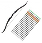 Recurve Bow Archery Hunting Right Hand Takedown 40 45 50 RH Deer Bear Game Sport