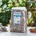 Wild Garden Bird Food Seed Ground & Table Mix Feed 5 12.75 25kg Happy Beaks NEW