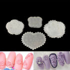 3D flower leaves Silicone DIY Mini Beauty Nails Art Mold Nails Carving Mold  FD