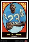 1967 Topps #121 Paul Lowe Chargers VG/EX $5.0 USD on eBay