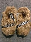 Star Wars Chewbacca Slippers Wookie Fur Feet Kids Youth $16.0 USD on eBay