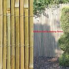 4m Natural Bamboo Slat Screening Fencing Garden Privacy Fence Panel Screen Roll