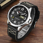 CURREN Watch Date Week Men's Sport Outdoor Business Leather Quartz Wrist Watches image