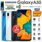 New&sealed Factory Unlocked Samsung Galaxy A30 Black Blue White Android Phone