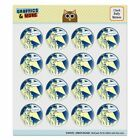 You're Suffering From Beer Elbow Funny Puffy Bubble Scrapbooking Sticker Set