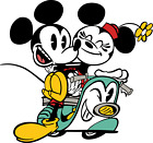 Mickey Mouse Cut Decal Sticker - 3 Inch To 12 Inch