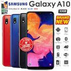 New Factory Unlocked Samsung Galaxy A10 Black Blue Red 2gb/32gb Android Phone
