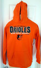 BALTIMORE ORIOLES Youth Hoodie Size Small or Large Soft Shell Orange Big Logo on Ebay
