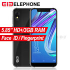 Elephone 3GB+16GB Unlocked Cell Phone Android 8.1 Smartphone 16GB 4G LTE Face ID