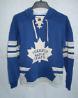 TML TORONTO MAPLE LEAFS Vintage CCM Hit the Boards Pullover Retro Hoodie Jersey