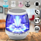 bluetooth Wireless Speaker LED Mini Portable Super Bass USB FM Radio AUX TF US