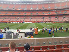 Cleveland Browns 2019 Season Tickets Sec. 110 Row 2 Great Seats