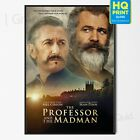 The Professor and the Madman Mel Gibson Sean Penn Movie Poster | A4 A3 A2 A1 |