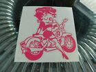betty boop bikers  sticker vinyl decal for car and others FINISH GLOSSY $4.84 CAD on eBay