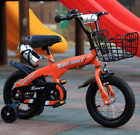 Children's Bicycle 2-7 Years 12''/14''/16'' Safe Kids Bike Boys Grils Child Bike