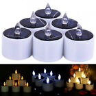 Solar Powered LED Candles Flameless Electronic LED picture