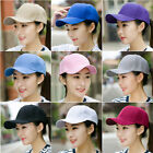 New Blank Solid color Baseball Cap Golf Sport Hat Shade You optional Colors