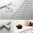 1X Kitchen Cupboard Cabinet T-Bar Door Handle Brushed Stainless Steel 10size NEW