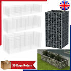 Steel Gabion Planter Outdoor Garden Rock-Stone Cage Wall Basket Multi Size Decor