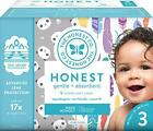 The Honest Company Club Box Diapers with TrueAbsorb Technology, Strawberries & B