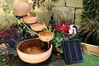 Terracotta Solar Water Feature,Solar Fountain,Solar powered water feature.