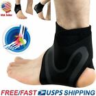 Adjustable Sports Elastic Ankle Brace Support Basketball Protector Foot Wrap US $7.99 USD on eBay