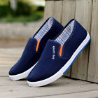 Spring Autumn Men's Sneakers Casual Slip On Low Top Shoes Canvas Shoes Loafers