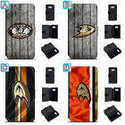 Anaheim Ducks Leather Case For Samsung Galaxy S10 Plus Lite S10e S9 S8 $8.99 USD on eBay