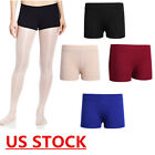 US Kids Girls Ballet Dance Booty Shorts Sports Gym Workout Yoga Activewear Pants