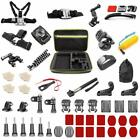 NEW Gopro Accessories Kit for Hero 7,4,5,6,Session,Black,Fusion,Head Strap Mount
