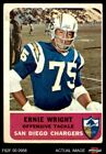 1962 Fleer #83 Ernie Wright Chargers VG $8.25 USD on eBay