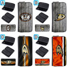 Anaheim Ducks Leather Long Wallet Purse Zip Around Handbag $15.99 USD on eBay