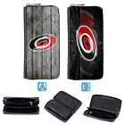 Carolina Hurricanes Leather Long Wallet Clutch Purse Zip Phone Holder $15.99 USD on eBay