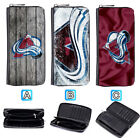 Colorado Avalanche Leather Long Wallet Purse Zip Women Handbag $16.99 USD on eBay