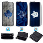 Toronto Maple Leafs Leather Long Wallet Purse Zip Women Handbag $15.99 USD on eBay